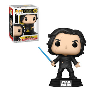 Figura Funko Pop! - Ben Solo Con Sable Azul - Star Wars Episodio IX: El Ascenso De Skywalker