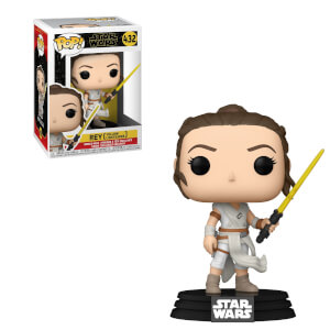Figura Funko Pop! - Rey Con Sable Amarillo - Star Wars Episodio IX: El Ascenso De Skywalker