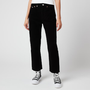 Tommy Jeans Women's Harper HR Straight Ankle Jeans - Black