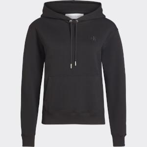 Calvin Klein Jeans Women's Degrade Logo Relaxed Hoodie - CK Black