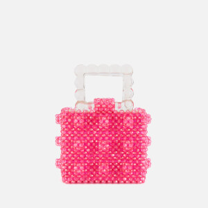 Shrimps Women's Maud Handbag - Fuchsia/Clear
