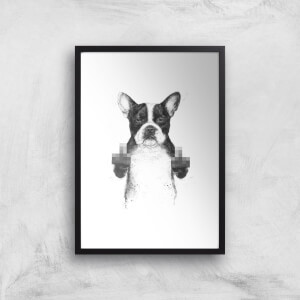 Censored Dog Giclee Art Print