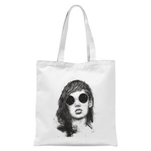 Summer Nights Tote Bag - White