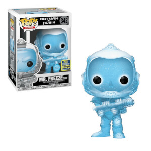 DC Comics Batman & Robin Mr Freeze GITD EXC  Figura Pop! Vinyl