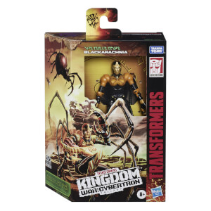 Hasbro Transformers Generations War for Cybertron: Kingdom Deluxe WFC-K5 Blackarachnia Action Figure