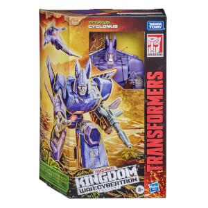 Hasbro Transformers Generations War for Cybertron: Kingdom Voyager WFC-K9 Cyclonus Action Figure