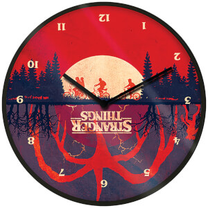 Stranger Things Upside Down Clock 10 Inch