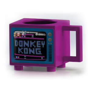 Nintendo Donkey Kong Retro TV Heat Changing Mug