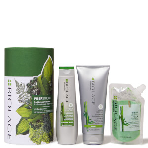 Biolage FiberStrong Trio Gift Set Collection for Damaged Hair (Worth £39.80)