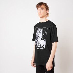 The Exorcist Possessed Unisex Oversized Heavyweight T-Shirt - Black