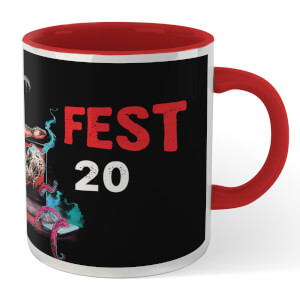 Grimmfest 2020 Mug - White/Red