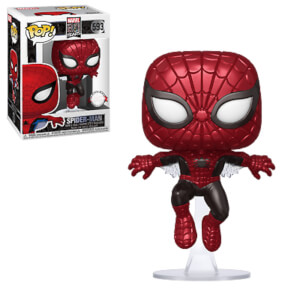 Marvel 80th Anniversary Spider-Man Metallic EXC Funko Pop! Vinyl