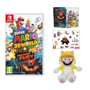 Super Mario 3D World + Bowser's Fury + Cat Mario Soft Toy