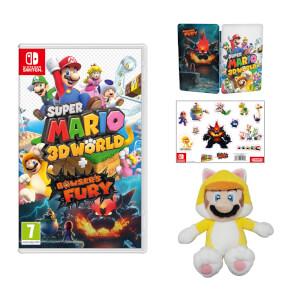 Super Mario 3D World + Bowser's Fury + Cat Mario Soft Toy