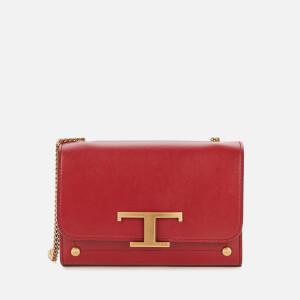 Tod's Women's Micro Shoulder/Clutch Bag - Red Garnet