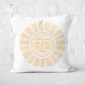 Sunny Side Up Square Cushion