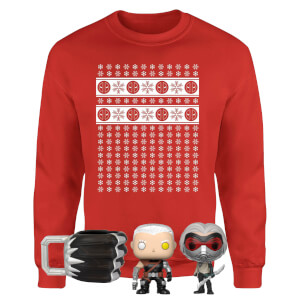 Marvel Officially Licensed MEGA Christmas Gift Set - Includes Christmas Sweatshirt plus 3 gifts from I Want One Of Those