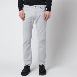 Jacob Cohen Men's J688 Gabardine Chinos - Grey Stone
