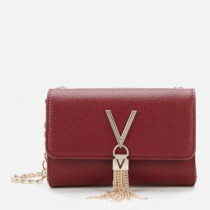 Valentino by Mario Valentino Women's Divina Small Shoulder Bag - Wine