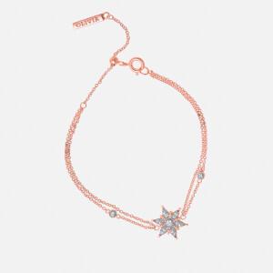 Olivia Burton Women's Ice Queen Snowflake Chain Bracelet - Rose Gold
