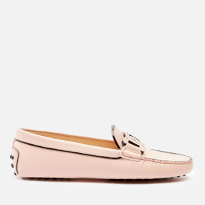 Tod's Women's Gommini Catena Tif Pelle Loafers - Pink