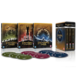 The Lord of the Rings Trilogy - Limited Edition 4K Ultra HD Steelbook Collection