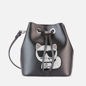 Karl Lagerfeld Women's K/Choupette Bucket - Black