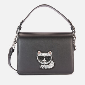 Karl Lagerfeld Women's K/Choupette Small Top Handle - Black