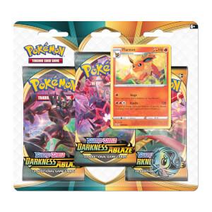 Pokémon TCG: Sword & Shield 3 Darkness Ablaze 3-Pack Blister