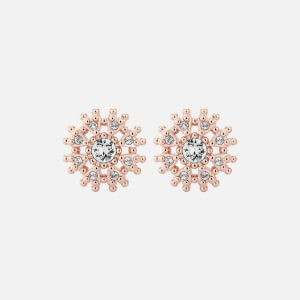 Ted Baker Women's Leslea: Love Blossom Stud Earrings - Rose Gold/Crystal
