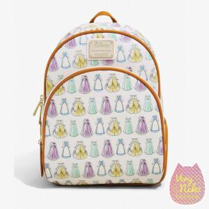 Loungefly Disney Princess Printed Aop Mini Backpack - VeryNeko Exclusive