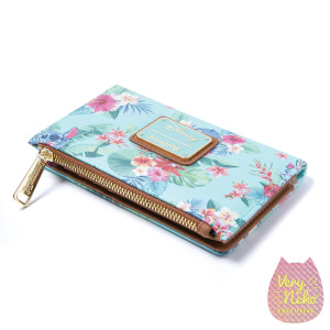 Loungefly Disney Stitch Mint Floral Wallet - VeryNeko Exclusive