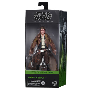 Hasbro Star Wars The Black Series Han Solo (Endor) Action Figure