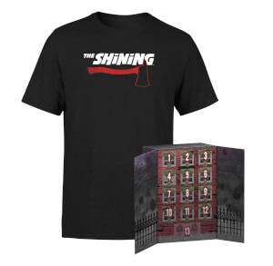 Lot Calendrier Funko Pop! Décompte 13 Jours Halloween + T-shirt Shining