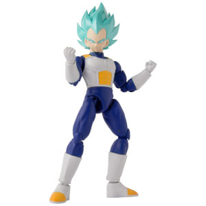 Bandai Dragon Stars DBZ Super Saiyan Blue Vegeta Version 2 Action Figure