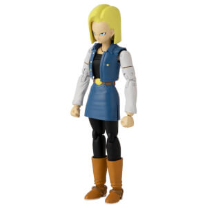 Bandai Dragon Stars DBZ Android 18 Action Figure