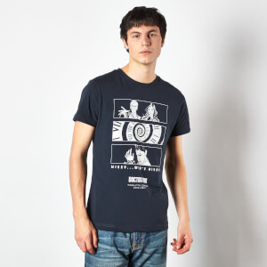 Doctor Who Twelfth Doctor Men's T-Shirt - Navy
