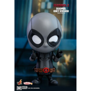 Hot Toys Cosbaby Marvel Deadpool 2 - Deadpool (Grey Version) Figure