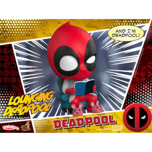 Hot Toys Cosbaby Marvel Comics - Deadpool (Lounging Version) Figure