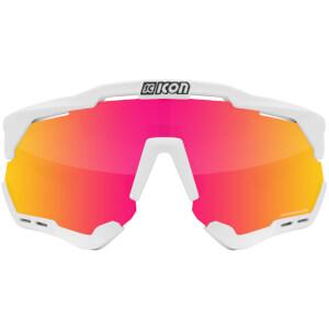 Scicon Aeroshade Road Sunglasses - White Gloss