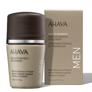 AHAVA Magnesium Rich Deodorant for Men 50ml