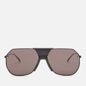 Bottega Veneta Women's Aviator Sunglasses - Black/Grey