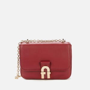 Furla Women's Cosy Mini Shoulder Bag - Cherry