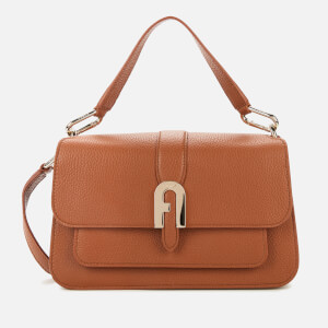 Furla Women's Sofia Small Top Handle Bag - Cognac