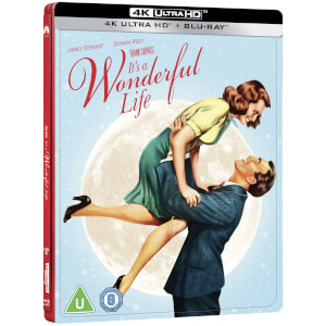 It's a Wonderful Life - Limited Edition 4K Ultra HD Steelbook (Includes 2D Blu-ray)