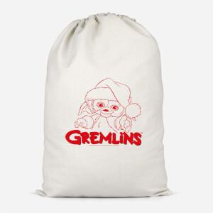 Gremlins Another Reason To Hate Gremlins Christmas Cotton Santa Sack