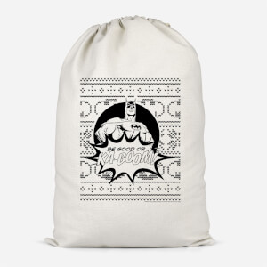 Batman Be Good Or Ka Boom! Cotton Storage Bag