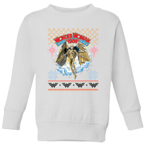 Wonder Women 1984 Kids' Sweatshirt - White