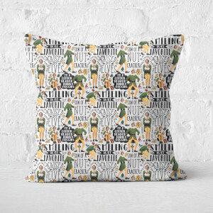 Elf Quotes Square Cushion