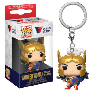 POP Portachiavi:Wonder Woman80th-Wonder Woman(Challenge Of The Gods)